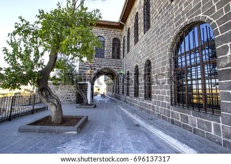 stock-photo-diyarbakir-museum-behind-vie