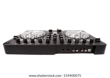 DJ mixer - stock photo