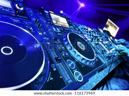 Dj Mixer Wallpaper Download Mixes The Track In