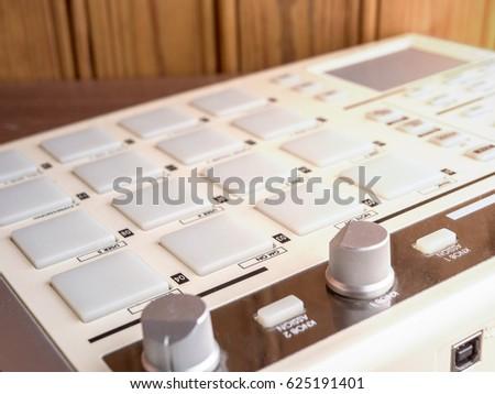 Dj Pad Controller Stock Photo Royalty Free 625191401 Shutterstock