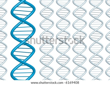DNA background ideal for a presentation or web page
