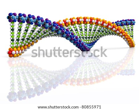 Dna concept - stock photo