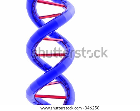 DNA Double Helix - stock photo