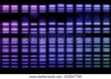 DNA Genetic Data - stock photo