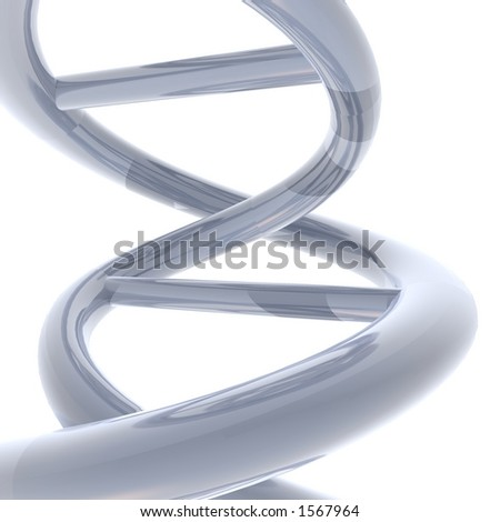 DNA macro - stock photo
