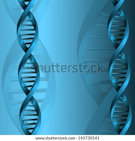DNA molecule structure background. jpg version