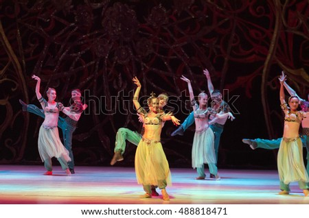 DNIPRO, UKRAINE - SEPTEMBER  24, 2016: One thousand and one nights       