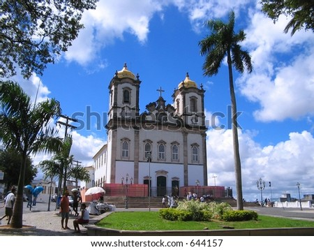 DO CARMO CHURCH - stock photo