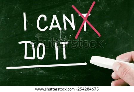 do it concept - stock photo