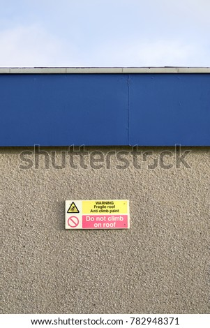 Do Not Climb Stock Images Royalty Free Images Amp Vectors