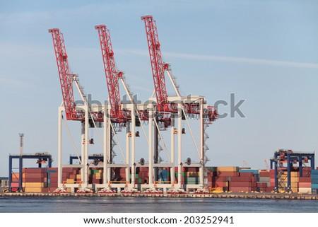 dock - stock photo