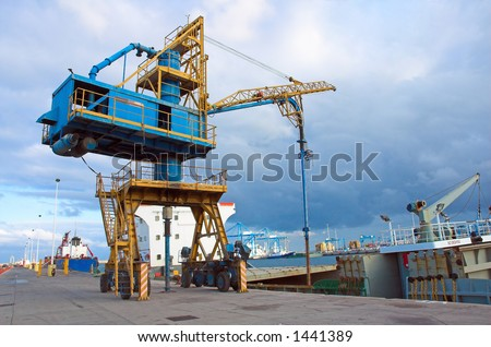 Dock equipment and boats