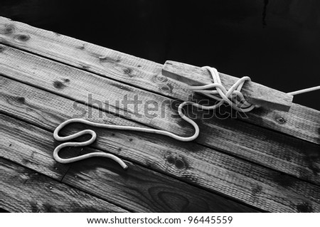 Dock Knot - stock photo