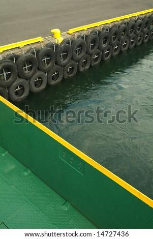 Docks of boats - stock photo