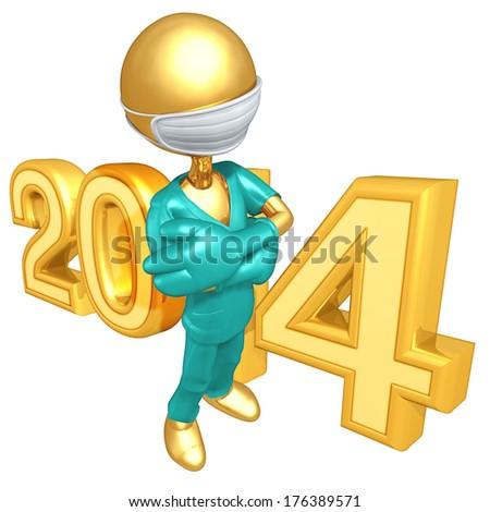 Doctor 2014 - stock photo