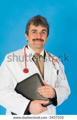 doctor at work - stock photo