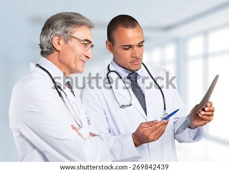 Doctor, Healthcare And Medicine, Hospital. - stock photo