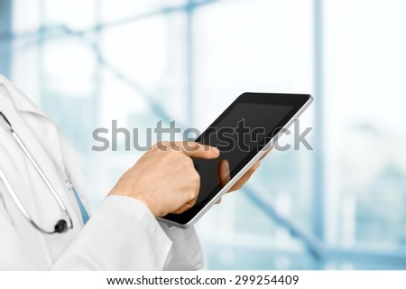 Doctor, Healthcare And Medicine, Medical Exam. - stock photo
