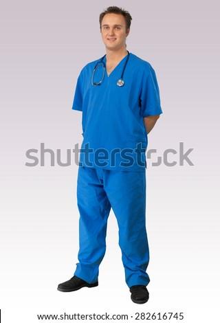 Doctor, Healthcare And Medicine, Nurse. - stock photo