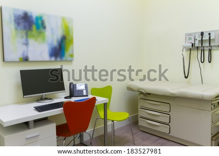 Doctor Office Interior Design - stock photo