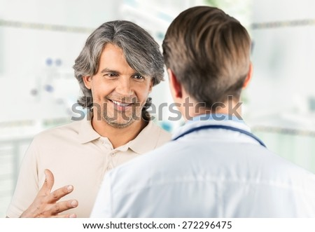 Doctor, Patient, Medical Exam. - stock photo