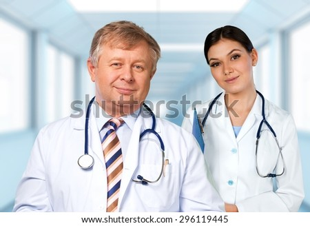 Doctor, Portrait, Senior Adult.