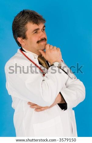 doctor's world - stock photo