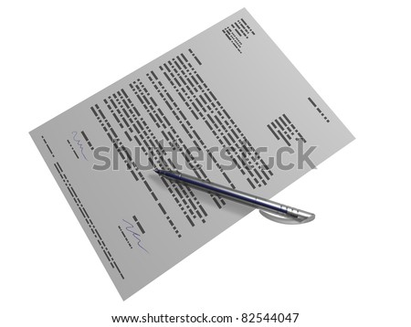 document - stock photo