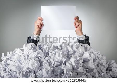 Document, contract, paper. - stock photo