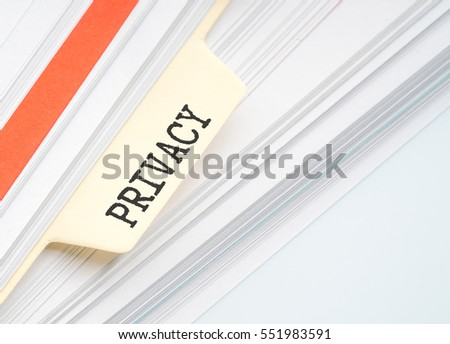 Document file with conceptual text
