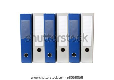 Document folders - stock photo