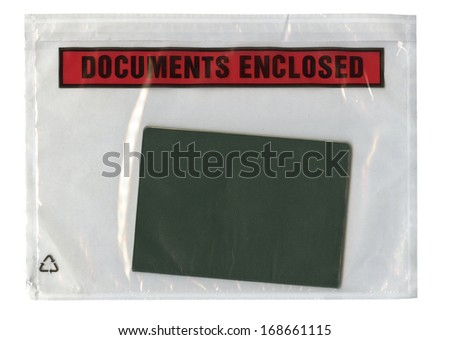 document in the pack, documents enclosed
