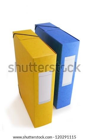 Document storage - stock photo