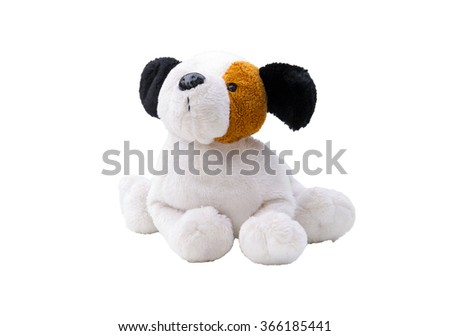 dog toy isolated - stock photo