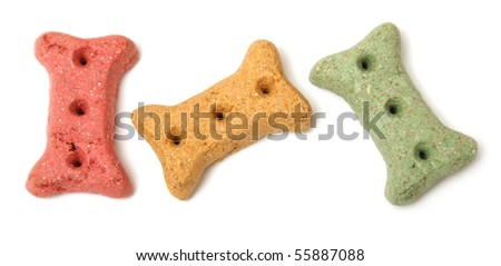Dog Treats - stock photo