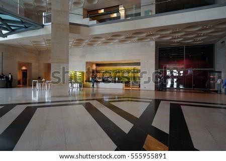 i m pei doha doha qatar 20 dec 2016 inside stock photo 555955891 shutterstock