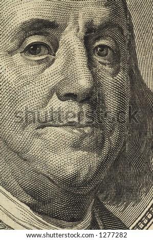 dolar close up - stock photo