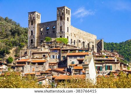Dolceacqua, Italy - stock photo