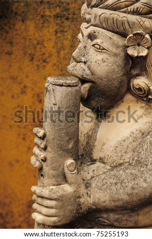 doll of Bali - stock photo