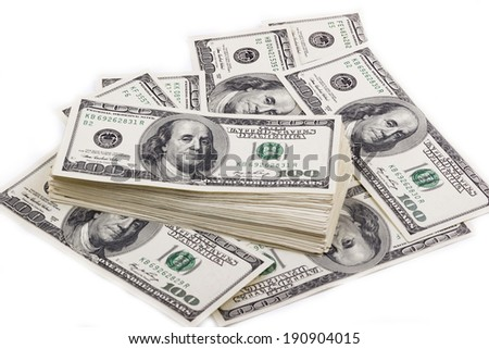 dollar banks note money background