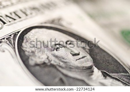 Dollar close up