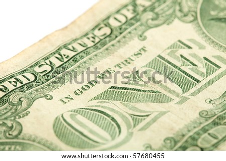 dollar closeup
