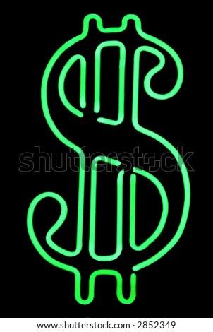 Dollar Sign - stock photo