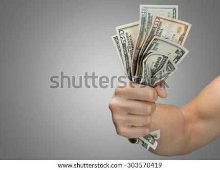 Dollars. - stock photo