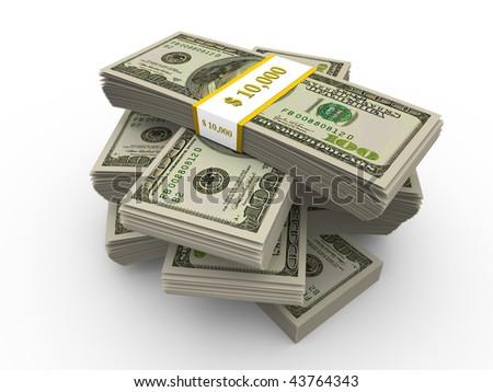 Dollars - stock photo
