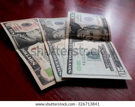 Dollars/Dollars/Dollars - stock photo