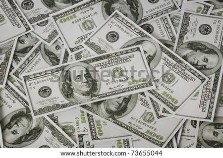 dollars money - stock photo