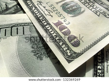 Dollars USA - stock photo