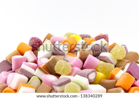 Dolly Mixture (Mixed Candies) - stock photo