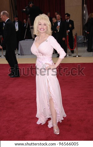 DOLLY PARTON at the 78th Annual Academy Awards at the Kodak Theatre in Hollywood. March 5, 2006  Los Angeles, CA  2006 Paul Smith / Featureflash - stock photo